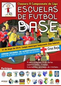 Cartel Escuelas fútbol base