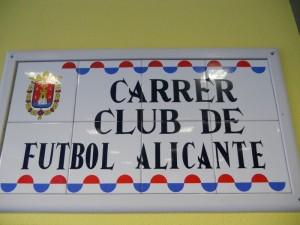 Calle Alicante Cf