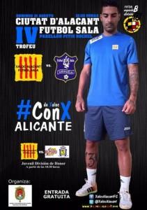 Cartel IV Trofeu Ciutat d'Alacant