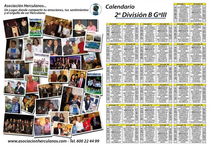 Calendario Hércules