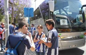 Afición Hércules bus