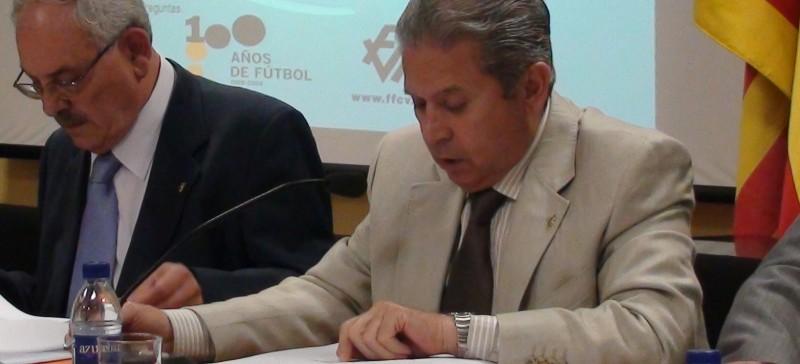 Fallece emilio zamora exsecretario general de la for Federacion valenciana de futbol