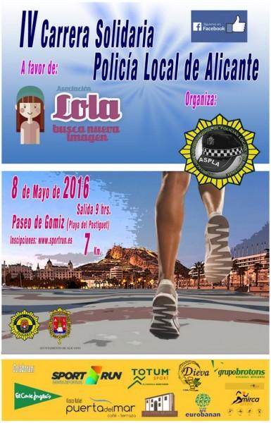 IV Carrera Solidaria Policia Local de Alicante