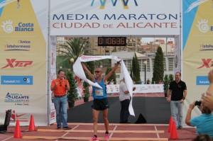 Ganador Media Maratón Alicante