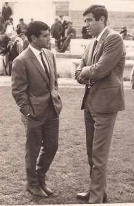 Luis Aragonés con José Juan