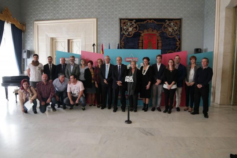 Asociaciones de comerciantes de Alicante y Alcalde